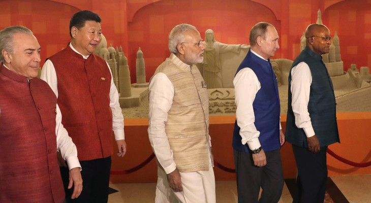 Arranca octava Cumbre de BRICS en India - ảnh 1