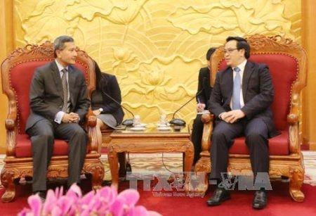 Vietnam y Singapur estrechan cooperación multisectorial  - ảnh 1