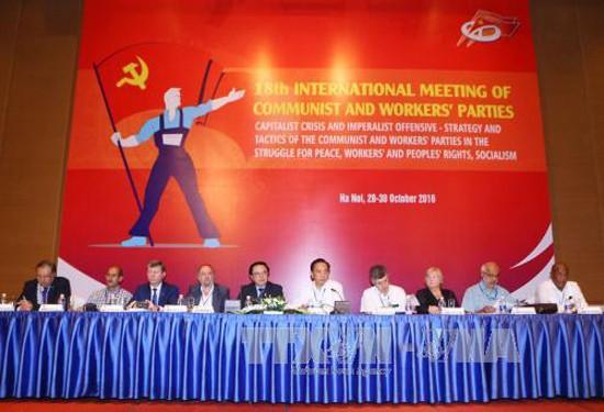 Vietnam acoge XVIII Encuentro Internacional de Partidos Comunistas y Obreros - ảnh 1
