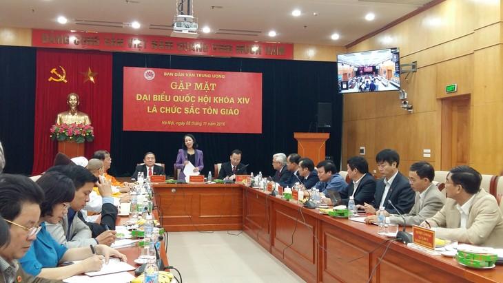 Parlamentarios religiosos contribuyen a garantizar derecho de libertad de culto en Vietnam - ảnh 1