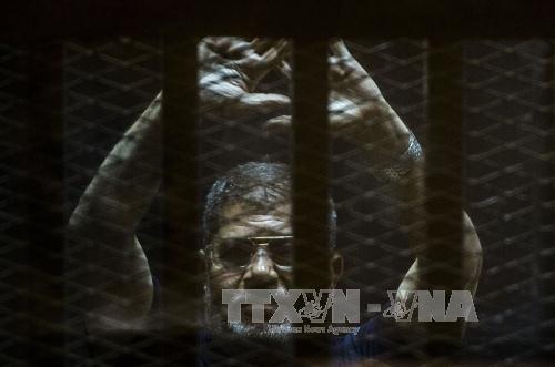 Egipto anula condena de muerte para expresidente Mursi - ảnh 1