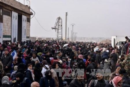 ONU: Miles de sirios desplazados a causa de enfrentamientos en Alepo - ảnh 1