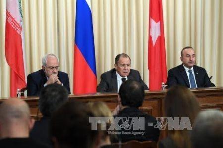 Rusia, Irán y Turquía comprometidos a promover tregua en Siria  - ảnh 1