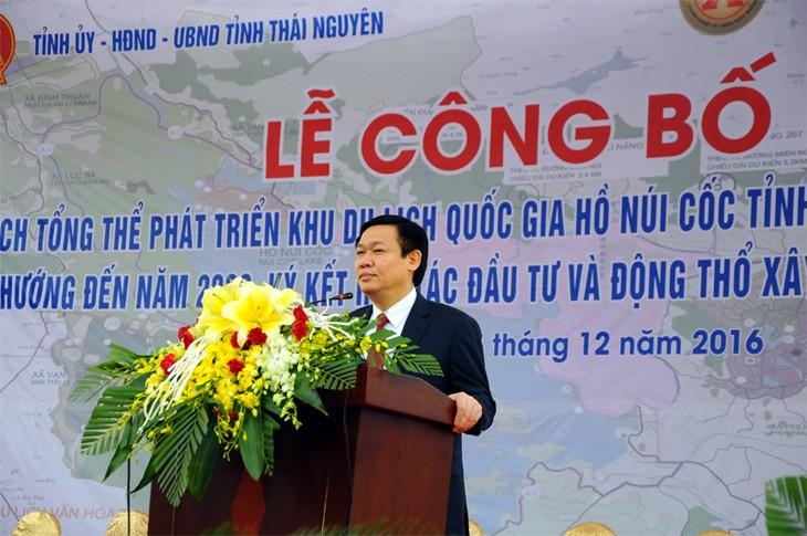 Thai Nguyen arranca construcción de dos proyectos importantes   - ảnh 1