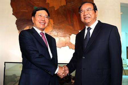 Vietnam y Camboya acuerdan cimentar amistad y cooperación - ảnh 1