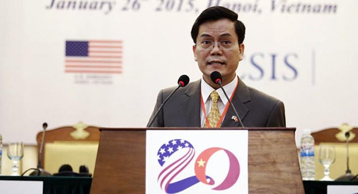 Estados Unidos reafirma voluntad de reforzar cooperación con Vietnam - ảnh 1