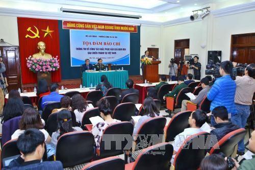 Vietnam determinado a superar secuelas de explosivos remanentes de la guerra - ảnh 1