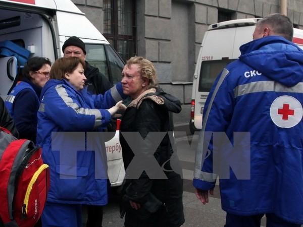 Al menos 11 muertos en un atentado en el metro de San Petersburgo - ảnh 1