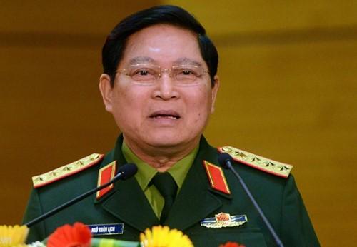 El ministro de Defensa vietnamita visita Myanmar - ảnh 1
