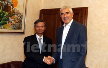 Vietnam e Italia fortalecen la cooperación en la supervisión financiera - ảnh 1