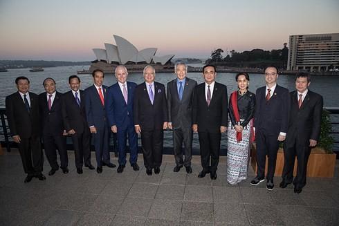 Primer ministro de Vietnam aborda orientaciones de la cooperación Asean-Australia en el futuro - ảnh 1