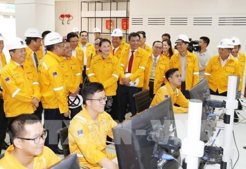 Inauguran la fábrica de procesamiento de gas de Ca Mau - ảnh 1