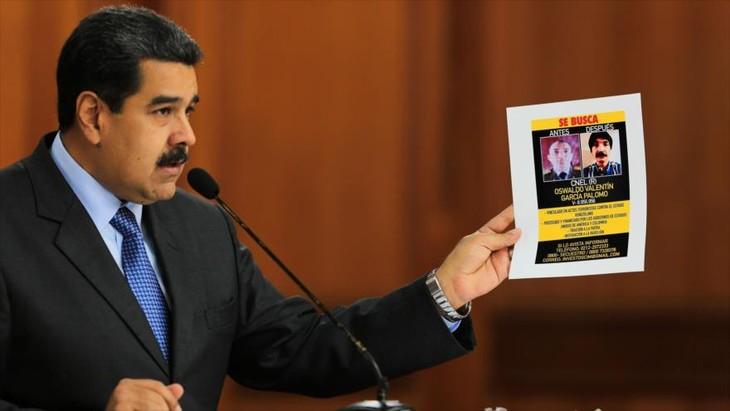 Presidente venezolano presenta pruebas del ataque frustrado en su contra - ảnh 1