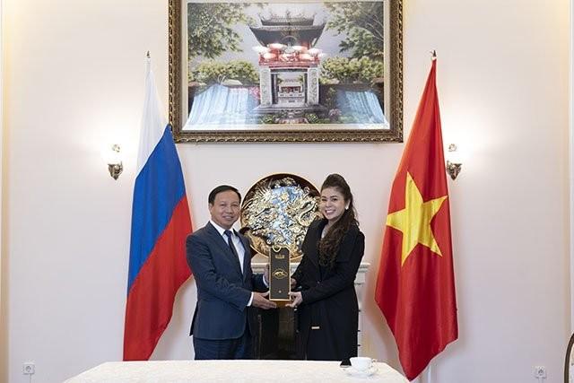 Empresa de café de Vietnam lleva sus productos a Rusia - ảnh 1