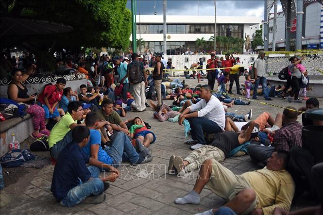 Cámara Baja norteamericana aprueba paquete financiero a tema migratorio - ảnh 1