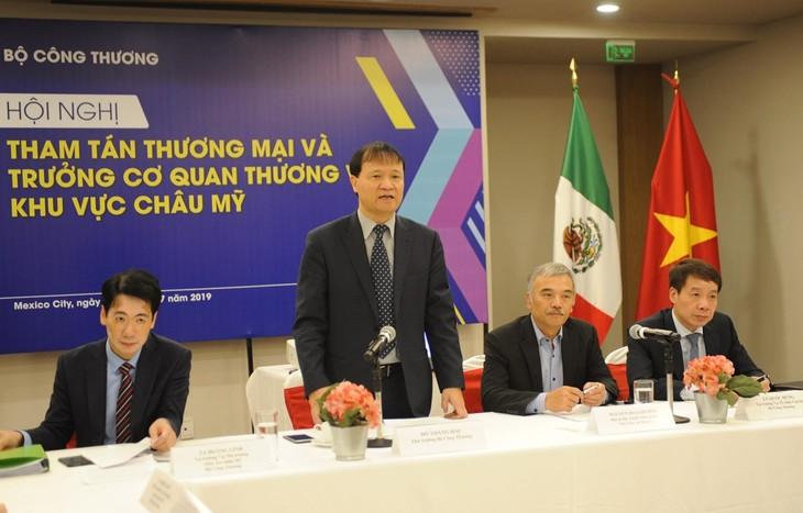 Vietnam busca incrementar intercambio comercial con América  - ảnh 1