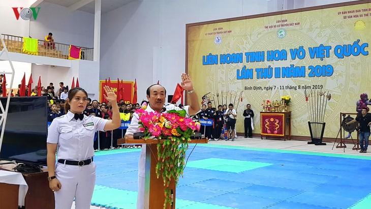 Inauguran el segundo Festival Internacional de Artes Marciales Vietnamitas - ảnh 1