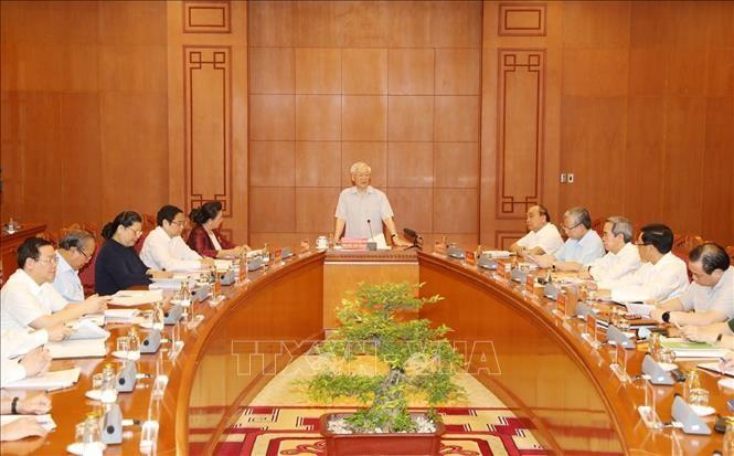 Efectúan reunión del Subcomité de Documentos del XIII Congreso Nacional del Partido Comunista de Vietnam - ảnh 1
