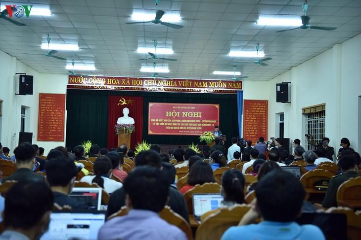 Levantamiento de la cuarentena en localidad vietnamita - ảnh 3