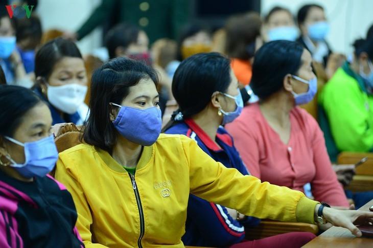 Levantamiento de la cuarentena en localidad vietnamita - ảnh 5