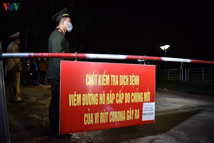 Levantamiento de la cuarentena en localidad vietnamita - ảnh 7
