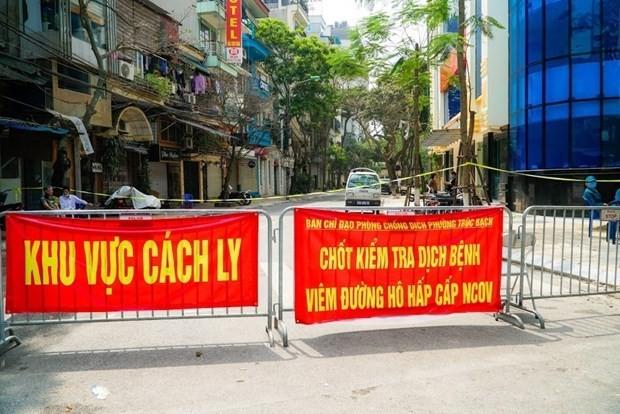 Nueve extranjeros reportados como nuevos casos infectados con coronavirus en Vietnam - ảnh 1