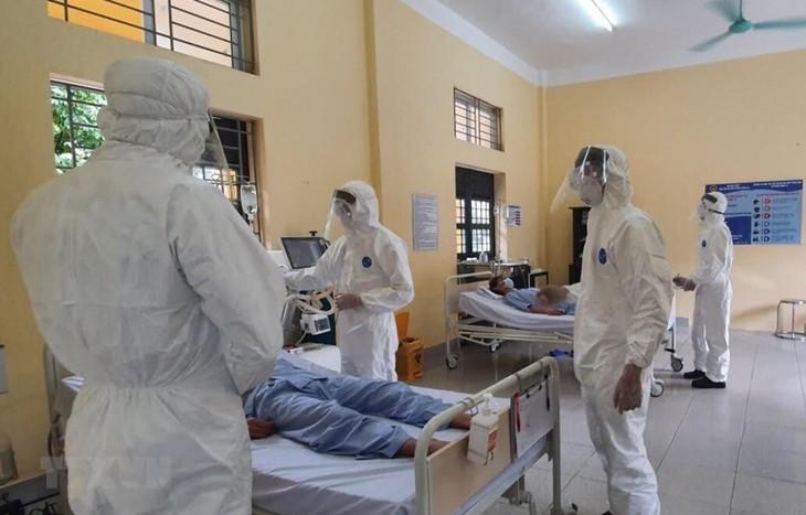 Ministerio de Defensa de Vietnam activo en la prevención del Covid-19 - ảnh 1