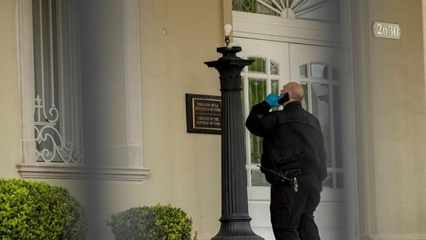 Cuba condena ataque contra su Embajada en Estados Unidos - ảnh 1