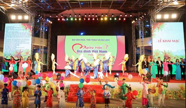 Efectúan actividades como preámbulo del Día de la Familia de Vietnam en 2020 - ảnh 1