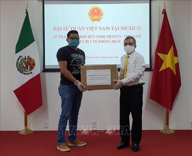 Gobernador mexicano agradece gesto de solidaridad de Vietnam en el combate al covid-19 - ảnh 1