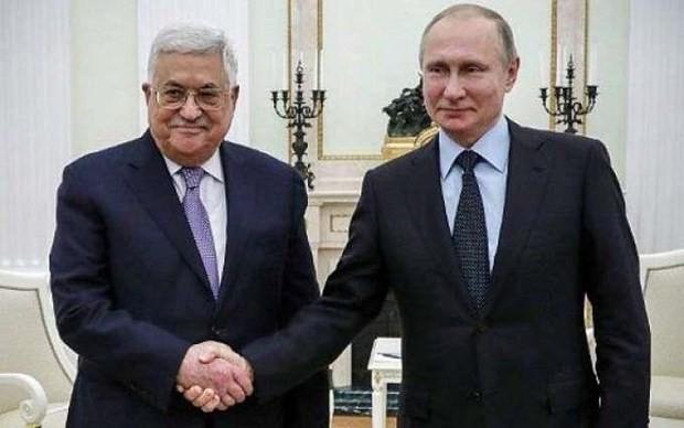 Líderes de Rusia y Palestina dialogan sobre proceso de paz en Oriente Medio y relaciones bilaterales - ảnh 1