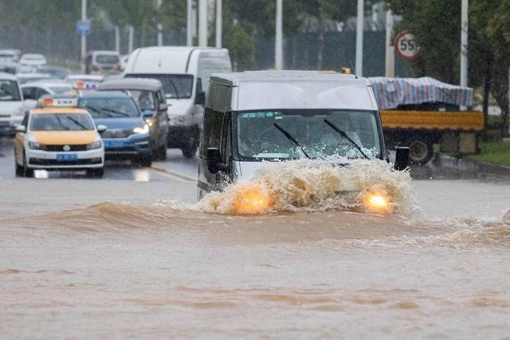 Ministros de Relaciones Exteriores de la Asean emiten Declaración sobre inundaciones en China - ảnh 1