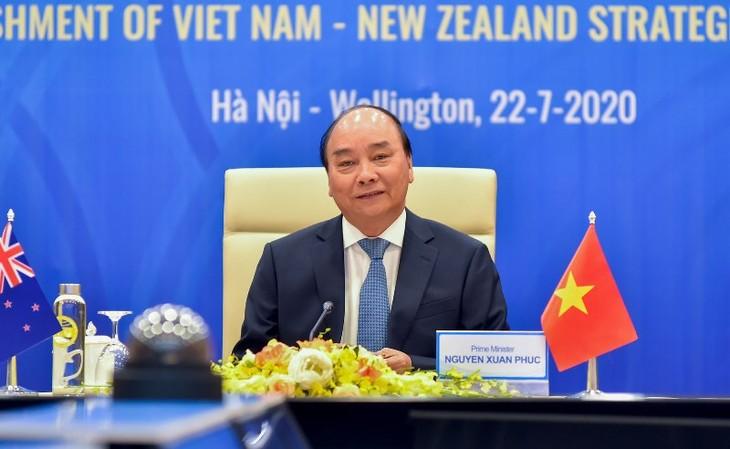 Vietnam y Nueva Zelanda establecen relaciones de asociación estratégica - ảnh 1