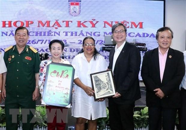 Vietnam y Cuba afianzan vínculos especiales en 67 aniversario  de la epopeya de Moncada - ảnh 1