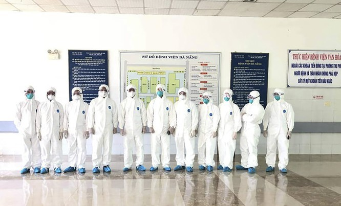 Concentran fuerzas y recursos para ayudar a Da Nang a controlar el covid-19 - ảnh 1