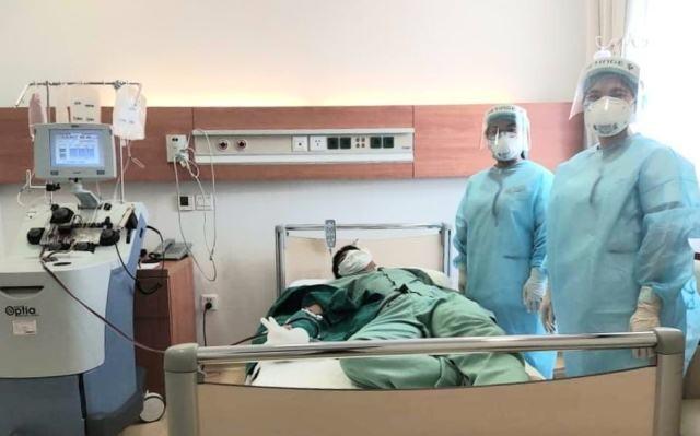Donación de plasma para pacientes con covid-19: una respuesta amplia en Vietnam - ảnh 1