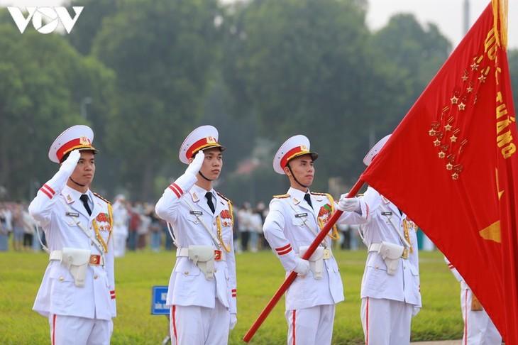 Conmemoran fechas patrias en Hanói  - ảnh 1