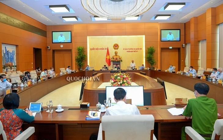 Inauguran la 48 reunión del Comité Permanente del Parlamento vietnamita - ảnh 1