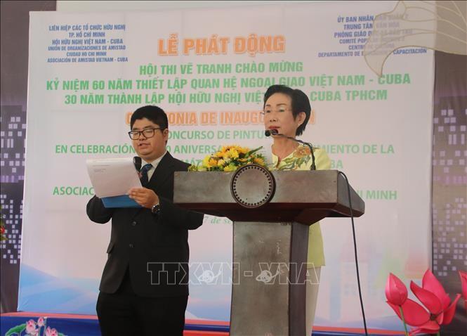 Lanzan concurso de dibujo para niños en saludo al 60 aniversario de las relaciones diplomáticas Vietnam-Cuba - ảnh 1