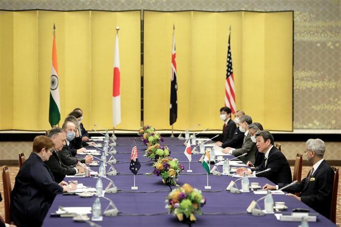 Estados Unidos, Australia, India y Japón comprometidos a trabajar por una región del Indo-Pacífico libre y abierta - ảnh 1