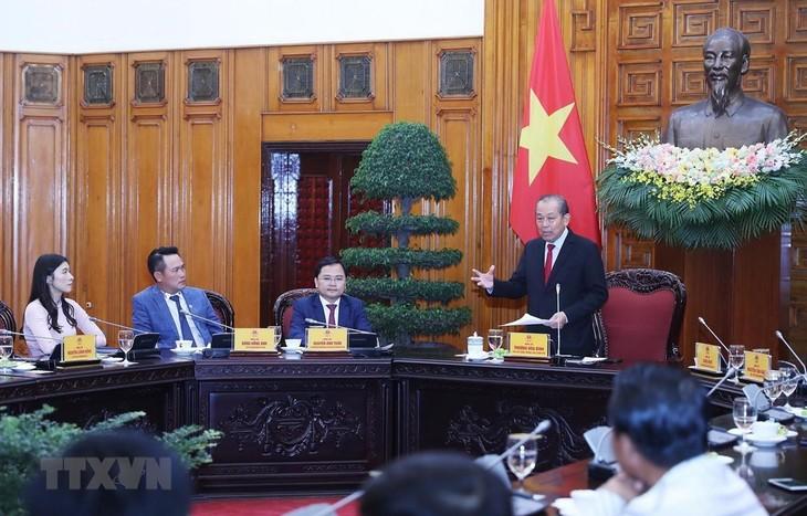 Gobierno vietnamita reafirma su apoyo al empresariado nacional - ảnh 1