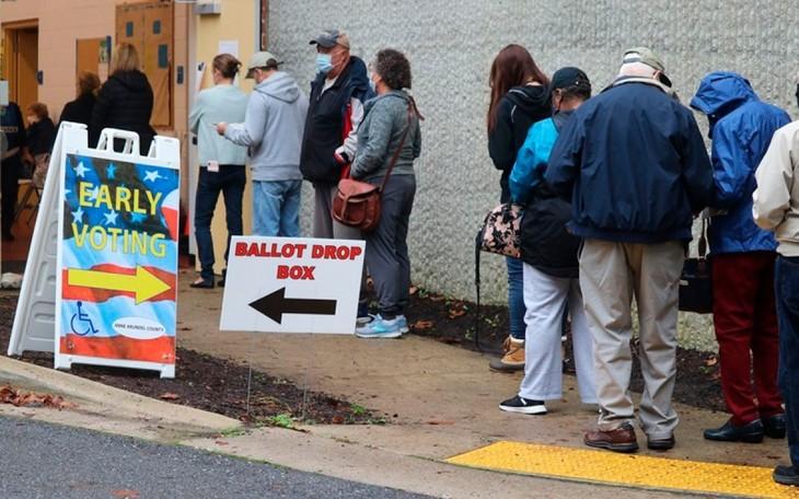 Más de 90 millones de estadounidenses han votado de forma anticipada - ảnh 1