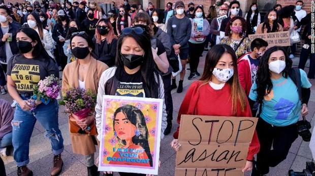 Las agresiones contra la comunidad asiática en Estados Unidos ascienden hasta los 4.000 ataques en apenas un año - ảnh 1