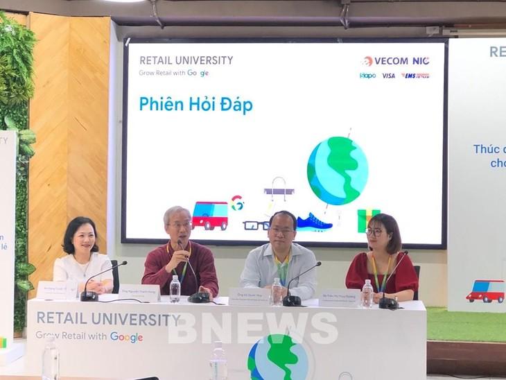 Google apoya a las empresas vietnamitas en el comercio electrónico a través del evento Retail University 2021 - ảnh 1