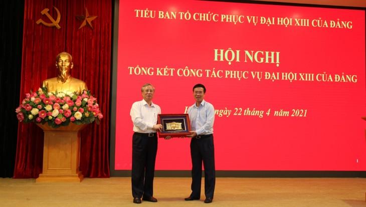 Valoran las contribuciones del Subcomité de Servicios al XIII Congreso del Partido Comunista de Vietnam - ảnh 1
