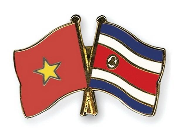 Vietnam felicita a Costa Rica por aniversario 45 de las relaciones diplomáticas bilaterales - ảnh 1