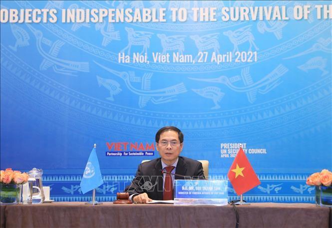 Vietnam preside debate abierto del Consejo de Seguridad sobre la protección de infraestructuras esenciales - ảnh 1