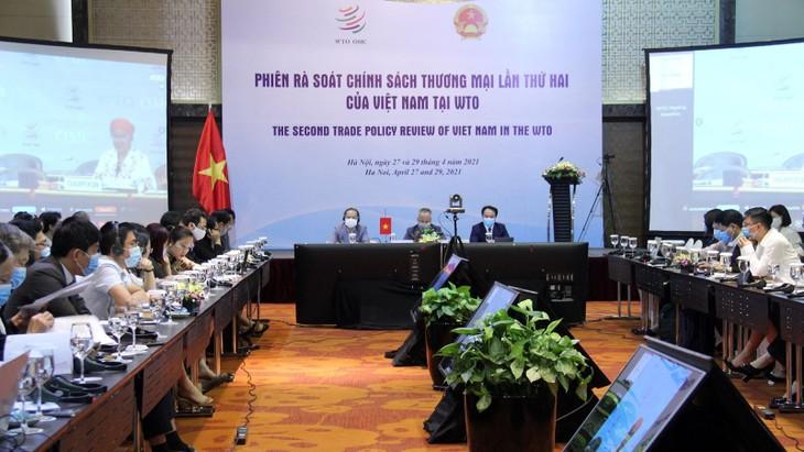 Vietnam realiza la segunda sesión del Examen de Políticas Comerciales con la OMC - ảnh 1