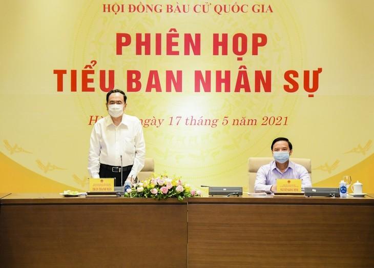 Consejo Electoral Nacional de Vietnam celebra reunión sobre trabajo del personal - ảnh 1