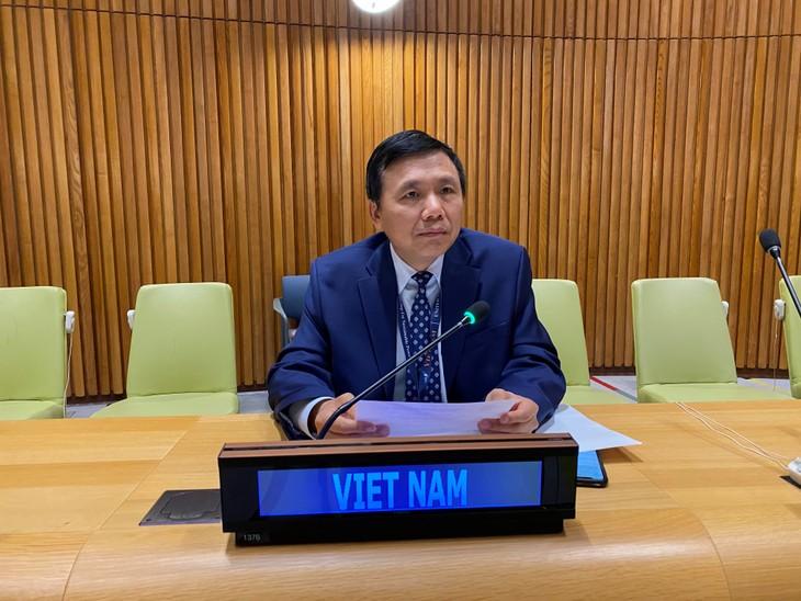 Vietnam aporta al debate del Consejo de Seguridad sobre la situación humanitaria en Etiopía - ảnh 1